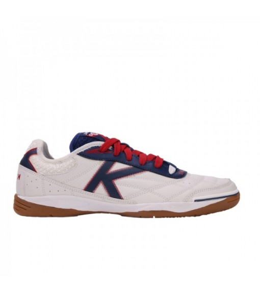 Kelme Kids' Trainers Indoor White/Red 55918-140 | Kids' Football Boots | scorer.es