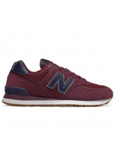 New Balance Men's Trainers ML574 Maroon ML574SPQ | Low shoes | scorer.es