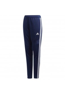 Adidas Kids' Trousers Inseam 19 Navy Blue/White DT5177