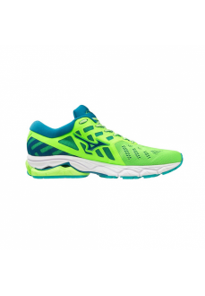 Mizuno Men's Trainers Wave Ultima 11 Green J1GC190916