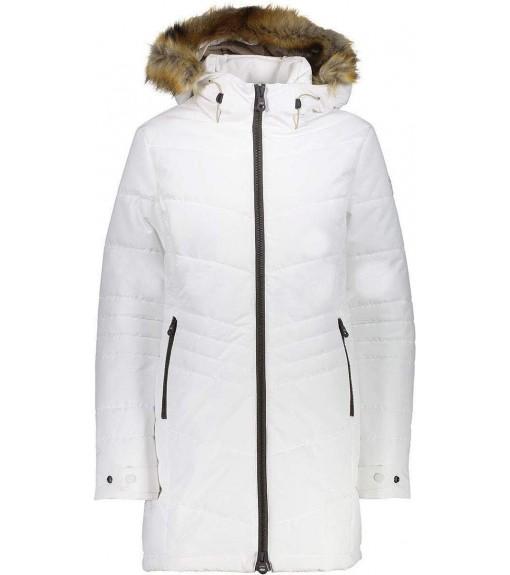 Campagnolo Women's Coat Parka Fix Hood Grey 39K2906F U423   Coats for Women   scorer.es