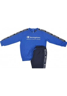 Champion Infant's Tracksuit Blueon/Navy Blue 305102 BS003 | Tracksuits for Kids | scorer.es