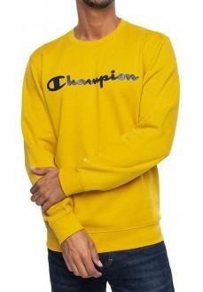 Sudadera Hombre Champion Cuello Caja Amarillo 213479- YS072