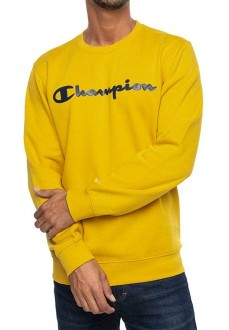 Sudadera Hombre Champion Cuello Caja Amarillo 213479- YS072 | scorer.es