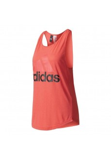 Camiseta Adidas Essentials Linear Coral
