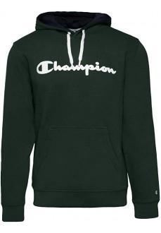 Sudadera Hombre Champion Con Capucha Verde 213424 GS512
