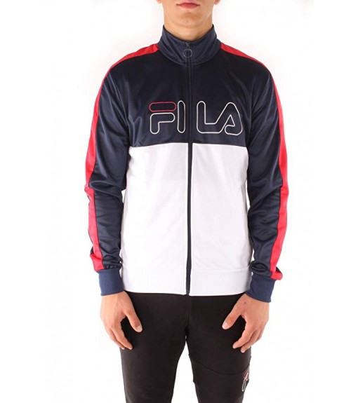 Fila Men's Sweatshirt Navy Blue/White 682870 | Men's Sweatshirts | scorer.es