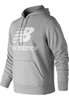 Sudadera Hombre New Balance Esse St Logo Poho Gris MT91547 AG | scorer.es