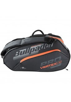 Bullpadel Racket Bag Vertex 005 Gray/Orange 60x28x28 cm BPP-20001