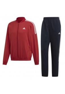 Adidas Men's Tracksuit Light Woven Maroon/Navy Blue EB7655