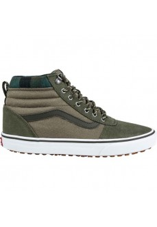 Vans Men's Trainers Ward Hi MTE (Outdoor) Green VN0A3JETSZ01