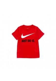 Camiseta Niño/a Nike S/S Tee Rojo 8U9461-U10