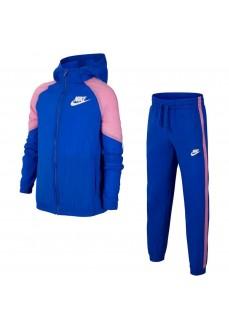 Nike Kids' Tracksuit Sportswear Blue/Pink BV3700-433