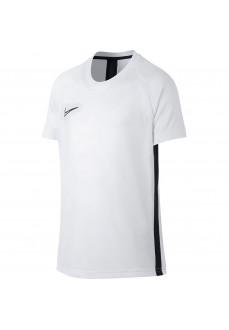 Camiseta Niño/a Nike Dry Academy Top SS Blanco AO0739-100 | scorer.es