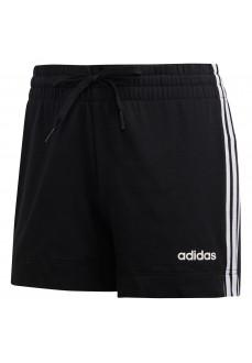Pantalón Mujer Corto Adidas Essentials 3 bandas Negro/Blanco DP2405 | scorer.es