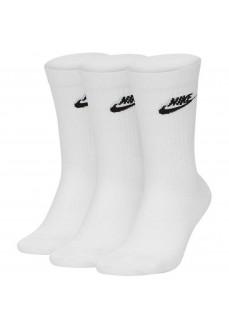 Calcetines Nike Everyday Essential Blanco SK0109-100 | scorer.es