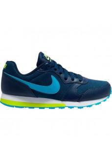 Zapatilla Niño/a Nike Md Runner 2 (GS) Marino/Azul 807316-415 | scorer.es