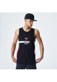 Camiseta Hombre New Era Chicago Bulls Wordmark Negro 12195407   scorer.es