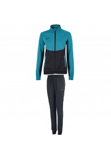 Chandal Mujer Joma Tracksuit Essential Turquesa/Negro 900700.116 | scorer.es