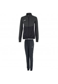Chandal Mujer Joma Tracksuit Essential Negro/Gris 900700.110 | scorer.es