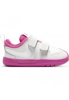 Nike Kids' Trainers Pico (TDV) White/Fuchsia AR4162-016