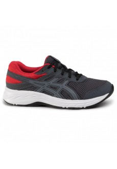 Asics Men's Trainers Contend 6 GS Gray/Red 1014A086-021