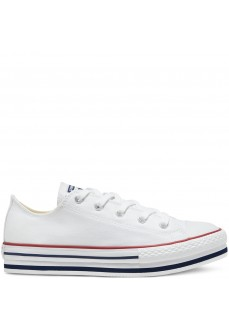 Converse Kids' Shoes Ctas Platform White 668028C