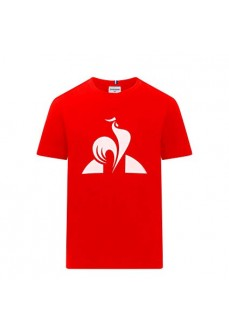 Camiseta Niño/a Le Coq Sportif Essential Tee Rojo 1921012