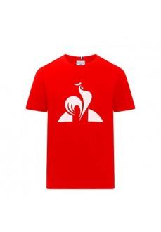Le Coq Sportif Kids' T-Shirt Essential Tee Red 1921012