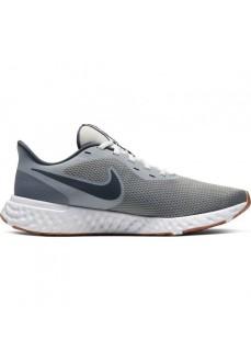 Zapatilla Hombre Nike Revolution 5 Gris BQ3204-008