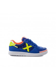 Munich Kids' Trainers G-3 Indoo Blue 1511097