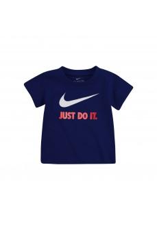 Camiseta Niño/a Nike S/S Tee Marino 8U9461-B7N | scorer.es