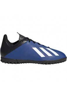 Zapatillas Niño/a Adidas X 19.4 TF Azul/Negro/Blanco FV4662