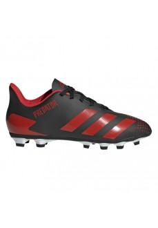 Adidas Kids' Trainers Predator 20.4 FxG Black/Red EF1931
