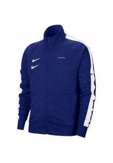 Sudadera Hombre Nike Sportswear Swoosh Azul/Blanco CJ4884-455
