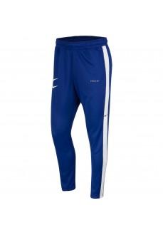 Pantalón Largo Hombre Nike Swoosh Azul/Blanco CJ4873-455