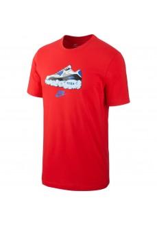 Camiseta Hombre Nike Air Rojo CV0071-657