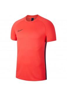 Camiseta Hombre Nike Dri-FIT Academy Carmesi/Azul AJ9996-644 | scorer.es