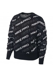 Nike Woman's Sweatshirt Pro Black/White CJ3588-010 | Women's Sweatshirts | scorer.es