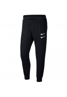 Pantalón Largo Hombre Nike Swoosh Negro CJ4880-010