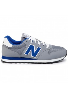 New Balance Men's Trainers Steel/Team Gray/Blue GM500TRS | Men's Trainers | scorer.es