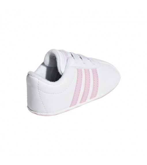 Adidas Infant Trainers Vl Court 2.0 White/Pink F36603 | Low shoes | scorer.es