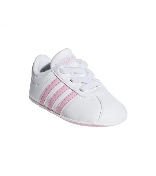 Zapatilla Adidas Infantil Vl Court 2.0 Blanco/Rosa F36603 | scorer.es