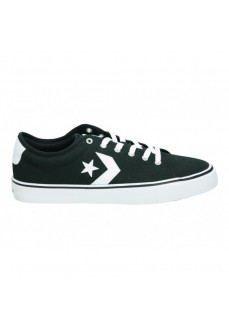 Converse Men's Shoes Star Replay Ox Black 163214C