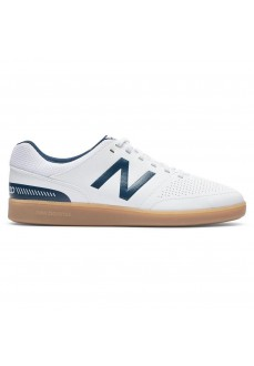 New Balance Men's Trainers Audazo V4 TD IN Navy Blue/White MSASIWN4 D | Men's Football Boots | scorer.es