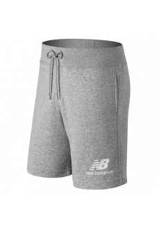 New Balance Men's Shorts Essentials Stacked Gray MS91584 AG