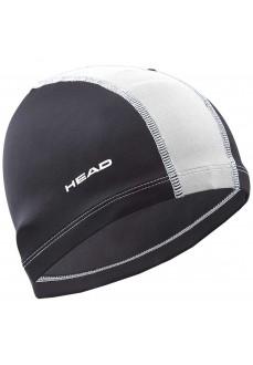 Gorro Natación Head Poliester Negro/Blanco 455445 BKWH