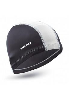 Gorro Natación Head Poliester Cap Negro/Blanco 455125 BKWH