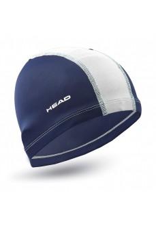Gorro Natación Head Poliester Cap Marino/Blanco 455125 NVWH