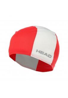 Gorro Natación Head Poliester Cap Rojo/Blanco 455125 RDWH